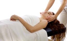 Terapia del masaje imagen de archivo libre de regalías