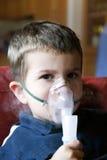 Terapia del nebulizzatore Immagini Stock Libere da Diritti