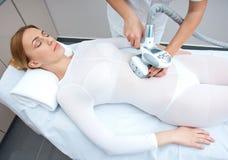 Terapia del tratamiento de las celulitis Imagen de archivo