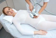 Terapia del tratamiento de las celulitis Imagenes de archivo