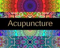 Terapia di alternativa di agopuntura Immagini Stock Libere da Diritti