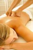 Terapia di massaggio fotografie stock
