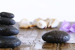 Terapia di pietra. fotografie stock