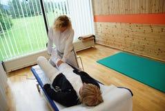 Terapia física Imagens de Stock