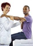 Terapia fisica Immagine Stock