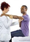 Terapia fisica Fotografie Stock Libere da Diritti