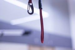 Terapia fisica di addestramento della sospensione Fotografia Stock Libera da Diritti