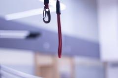Terapia fisica di addestramento della sospensione Fotografie Stock Libere da Diritti