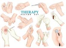terapia Grupo do vetor ilustração do vetor
