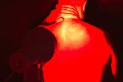 Terapia infrarroja de la luz del calor Imágenes de archivo libres de regalías