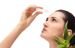 Terapia medica degli occhi Fotografia Stock