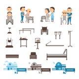 Terapia profesional stock de ilustración