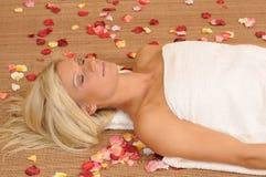 terapia relaksująca Zdjęcia Stock