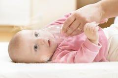 Terapia respiratoria Fotos de archivo