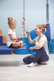 Terapia sensorial da integração para crianças Fotografia de Stock
