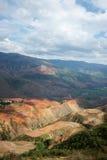 Terassenförmig angelegtes Feld, Ackerland, Yunnan, Porzellan Lizenzfreie Stockfotografie