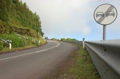 Teraz przechodzący w Azores Ilustracji