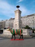 Terazije fontanna w Belgrade Zdjęcie Stock