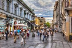 Terazije-Quadrat Lizenzfreie Stockfotos
