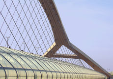 Terceira ponte do milênio Fotografia de Stock Royalty Free