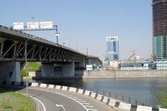 Terceiro anel do transporte, ponte Foto de Stock Royalty Free