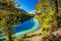 Terceiro lago, vale dos 5 lagos, Jasper National Park, Alberta Foto de Stock