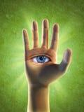 Terceiro olho ilustração do vetor