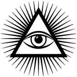 Terceiro olho ilustração stock