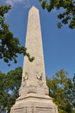Tercentenary Monument in Jamestown, Virginia Stock Image