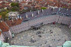 Tercer patio del castillo de Praga Imágenes de archivo libres de regalías