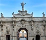 Tercera puerta del fortalecimiento de Alba Carolina foto de archivo libre de regalías