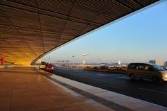 Tercera terminal del aeropuerto de Pekín Foto de archivo libre de regalías