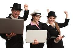 Komputerowego biznesu Gangnum styl Fotografia Royalty Free