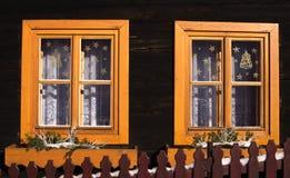 TERCHOVA, 16 Slowakije-Januari Royalty-vrije Stock Afbeelding