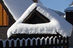 TERCHOVA, 16 Slowakije-Januari Stock Afbeeldingen