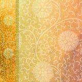Terciopelo anaranjado Imagenes de archivo