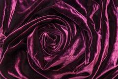 Terciopelo de seda vinoso Imagen de archivo