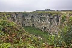 Terebovlyansky castle of the XVII century Stock Image