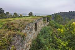 Terebovlyansky castle of the XVII century Royalty Free Stock Photo