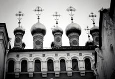 Terem churched. Moscow Kremlin. UNESCO World Heritage Site. Royalty Free Stock Image