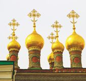 Terem churches. Moscow Kremlin. UNESCO World Heritage Site. Stock Images