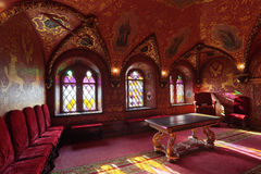 Terem Palace, the cross chamber stock photos