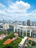 terenów Bangkok magistrali jeden s zakupy Siam kwadrat Obraz Royalty Free