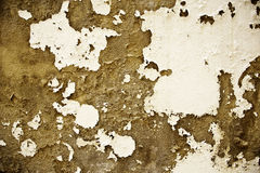 terenów ceglany paintwork strugająca odpłacająca się ściana Zdjęcie Stock