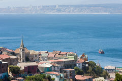 teren Chile Valparaiso Obrazy Royalty Free