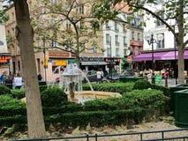 Teren Contrescarpe w Paryż Zdjęcie Stock