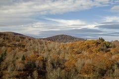 teren jesień odpowiada cmentarz Obrazy Royalty Free