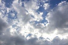 teren piękny błękitny Caucasus chmurnieje elbrus gór nieba biel Inspirować, pokojowy tło i tekstura Z kopii przestrzenią obrazy royalty free
