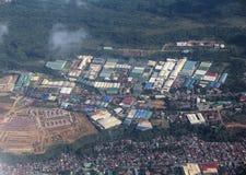 Teren przemysłowy, Filipiny fotografia royalty free