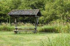 teren zakrywał Iowa parka obrazy stock